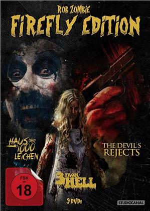 Rob Zombie Firefly Edition - Haus der 1000 Leichen / The Devil's Rejects / 3 From Hell (3 DVDs)