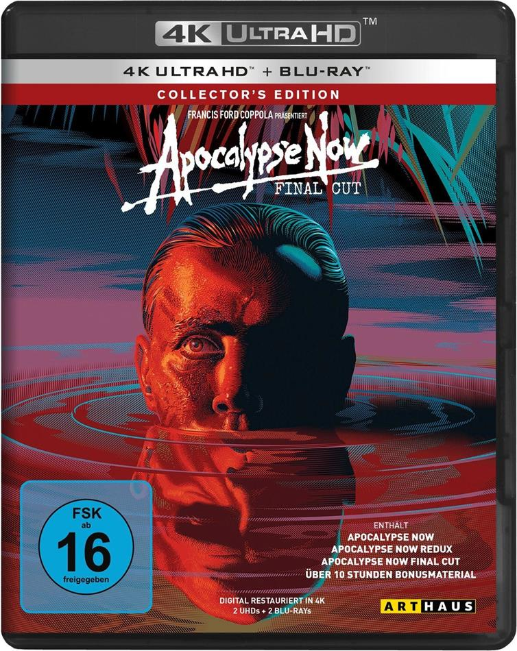 Apocalypse Now (1979) (Final Cut, Collector's Edition, 4K Ultra HD + 2 Blu-ray)