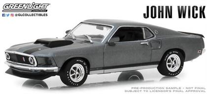 1:43 John Wick (2014) - 1969 Ford Mustang Boss 429