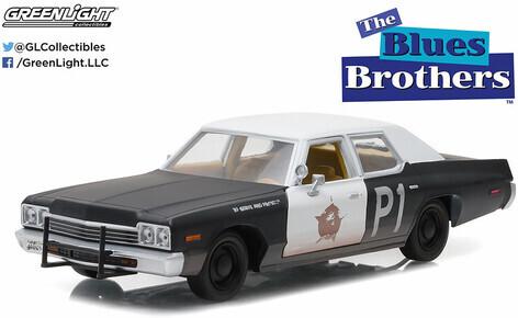 Blues Brothers - 1974 Dodge Monaco Bluesmobile