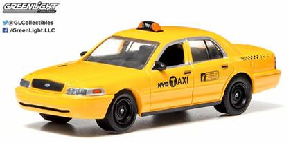 1:64 2011 Ford Crown Victoria Nyc Taxi