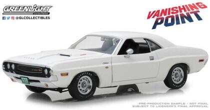 Vanishing Point (1971) - 1970 Dodge Challenger R/T