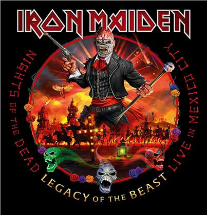 Iron Maiden - Nights Of The Dead, Legacy Of The Beast - Live - Live in Mexico City (PLG UK, 2 CDs)