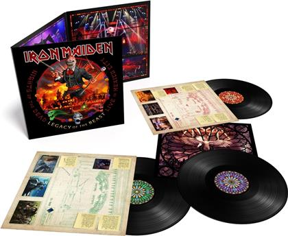 Iron Maiden - Nights Of The Dead, Legacy Of The Beast - Live - Live in Mexico City (PLG UK, 3 LPs)