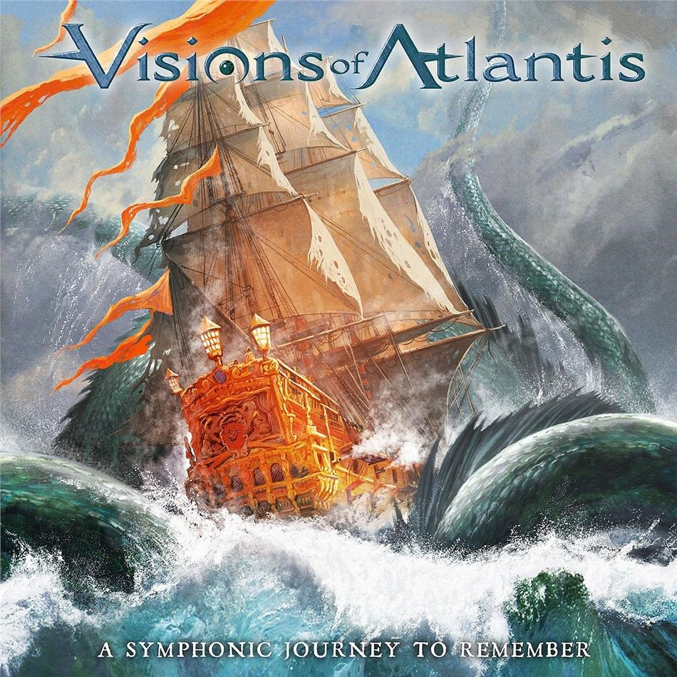 Visions Of Atlantis - A Symphonic Journey To Remember (CD + DVD + Blu-ray)