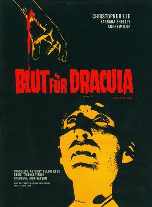 Blut für Dracula (1966) (Cover A, Limited Edition, Mediabook, 2 Blu-rays)