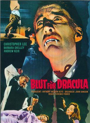 Blut für Dracula (1966) (Cover C, Limited Edition, Mediabook, 2 Blu-rays)