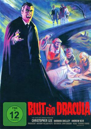 Blut für Dracula (1966) (Cover B, Limited Edition, Mediabook, 2 Blu-rays)