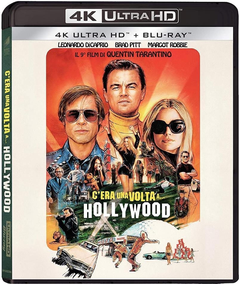 C'era una volta a... Hollywood (2019) (4K Ultra HD + Blu-ray)