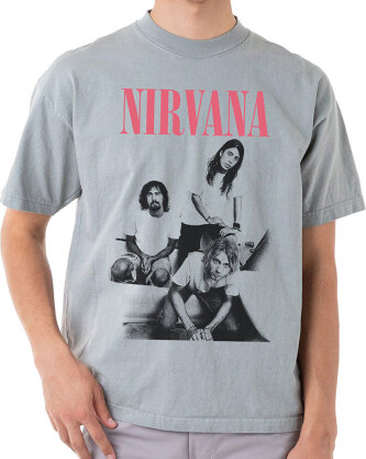 Nirvana: Bathroom Photo - T-Shirt