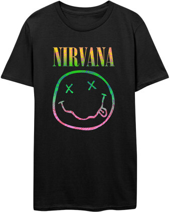 Nirvana: Sorbet Ray Smiley - Men's T-Shirt