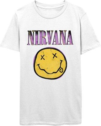 Nirvana: Xerox Smiley - T-Shirt