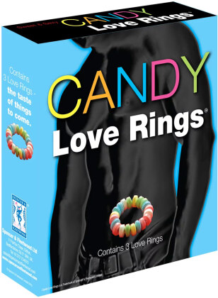 Candy Love Rings 3pcs