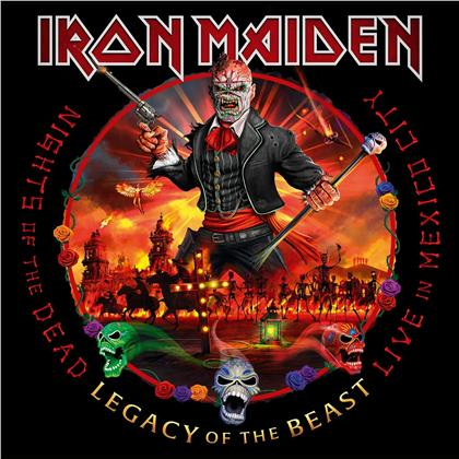 Iron Maiden - Nights Of The Dead, Legacy Of The Beast - Live (Digipack, + Poster, BMG Rights, 2 CDs)