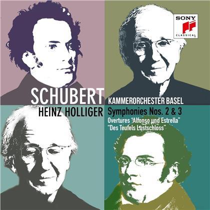 Kammerorchester Basel, Franz Schubert (1797-1828) & Heinz Holliger (*1939) - Symphonies Nos. 2 & 3