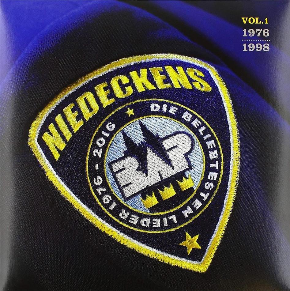 Niedeckens BAP - Die Beliebtesten Lieder Vol. 1 - 1976-1998 (Limited Edition, Yellow/Blue Vinyl, 2 LPs)