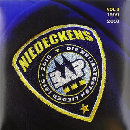 Niedeckens BAP - Die Beliebtesten Lieder Vol. 2 - 1999-2016 (Limited Edition, Yellow & Blue Vinyl, 2 LPs)