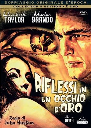 Riflessi in un occhio d'oro (1967) (Doppiaggio Originale D'epoca, Collector's Edition, 2 DVD)