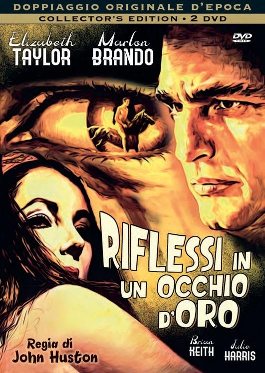 Riflessi in un occhio d'oro (1967) (Doppiaggio Originale D'epoca, Collector's Edition, 2 DVDs)