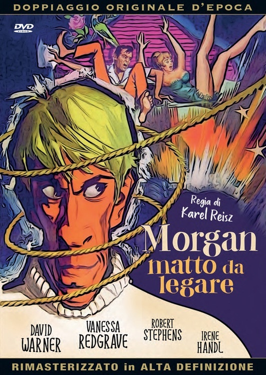 Morgan - Matto da legare (1966) (Doppiaggio Originale D'epoca, HD-Remastered, n/b)