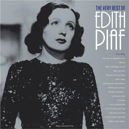 Edith Piaf - Very Best Of (Not Now UK, Clear Vinyl, LP)