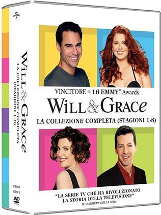 Will & Grace - La Serie Completa - Stagioni 1-8 (34 DVDs)