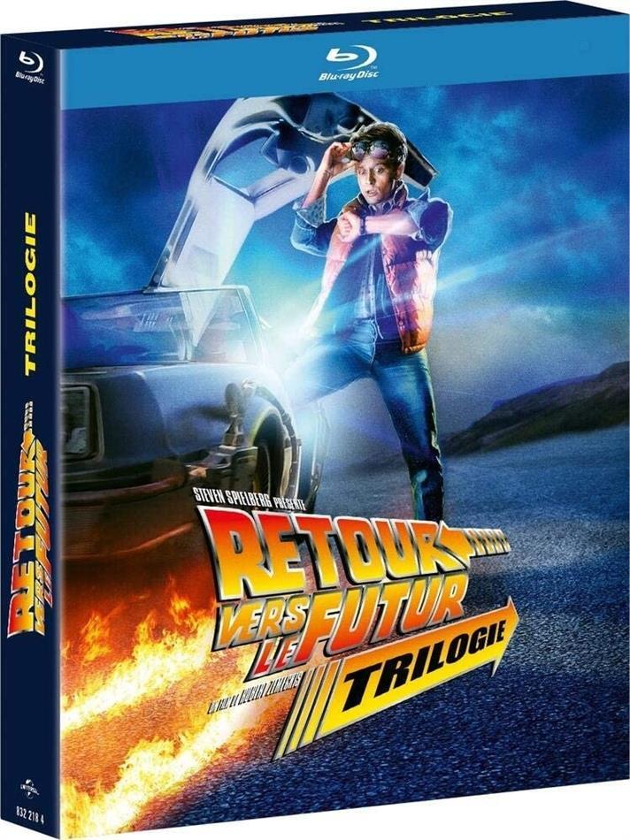 Retour vers le futur - Trilogie (35th Anniversary Edition, 4 Blu-rays)