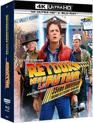 Retour vers le futur - Trilogie (35th Anniversary Edition, Steelbook, 3 4K Ultra HDs + 4 Blu-rays)