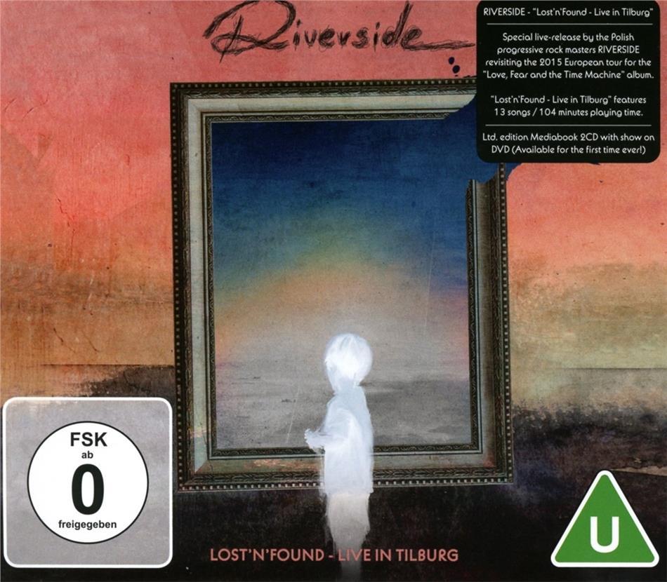 Riverside - Lost'n'Found - Live In Tilburg (2 CDs + DVD)
