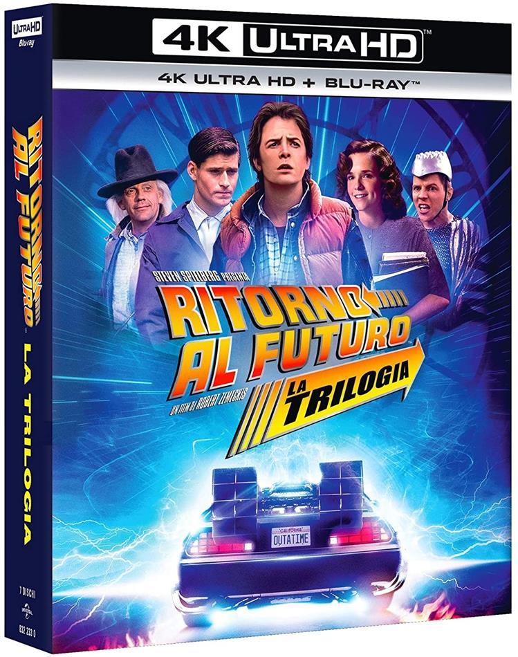 Ritorno al Futuro - La Trilogia (35th Anniversary Edition, 3 4K Ultra HDs + 4 Blu-rays)