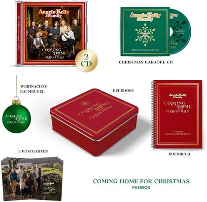 Angelo Kelly & Family - Coming Home For Christmas (Limitierte Fanbox, 3 CDs)