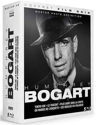 Humphrey Bogart - Tokyo Joe / Le Violent / Plus dure sera la chute / En marge de l'enquête / Les ruelles du malheur (Collection Film Noir, s/w, Restaurierte Fassung, 5 Blu-rays)