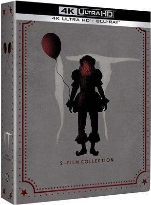 It 1+2 - Ça - Chapitre 1 & 2 (Édition Limitée, Steelbook, 2 4K Ultra HDs + 3 Blu-ray)