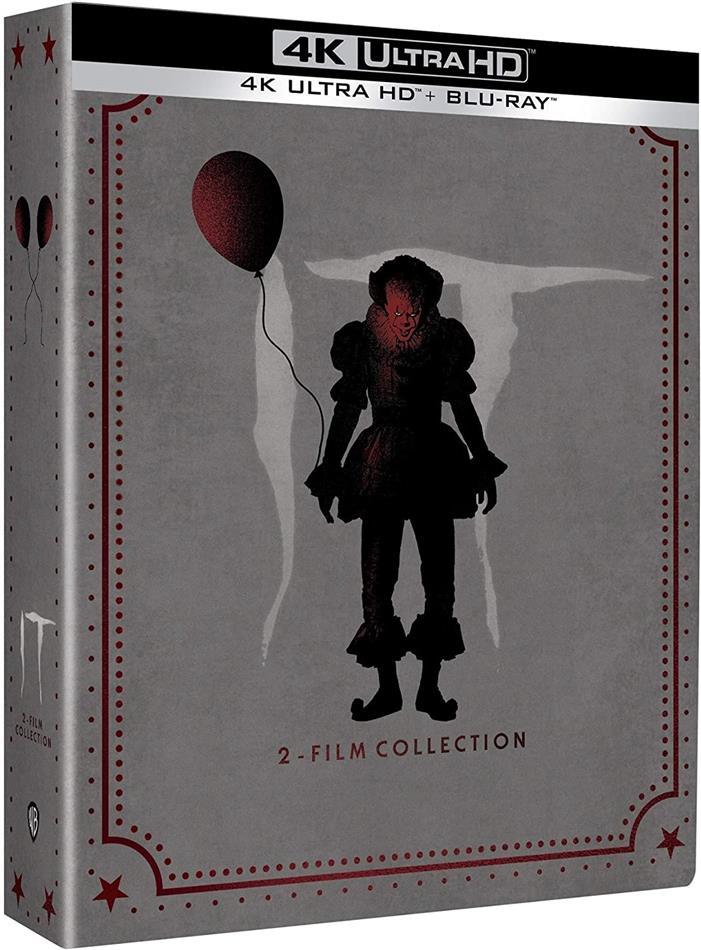 It 1+2 - Ça - Chapitre 1 & 2 (Limited Edition, Steelbook, 2 4K Ultra HDs + 3 Blu-rays)