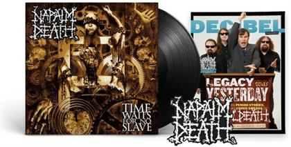Napalm Death - Time Waits For No Slave (Decibel Edition, LP)