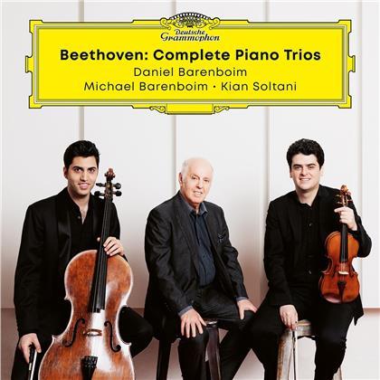 Ludwig van Beethoven (1770-1827), Kian Soltani, Michael Barenboim & Daniel Barenboim - Beethoven Trios (3 CDs)