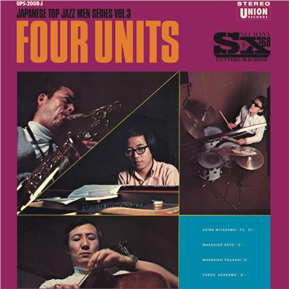 Four Units - Four Units - Japanese Jazz Men (LP)