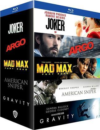 Joker / Argo / Mad Max : Fury Road / American Sniper / Gravity (5 Blu-rays)