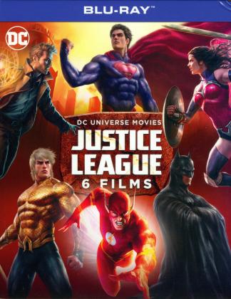 Justice League - 6 Films (6 Blu-rays)
