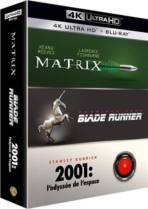 Matrix / Blade Runner / 2001: L'odyssée de l'espace (3 4K Ultra HDs + 3 Blu-rays)