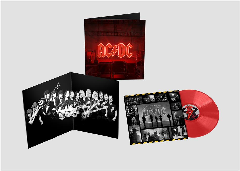 AC/DC - PWR UP (Power Up) - (Red Vinyl Edition) (Limited Edition, Opaque Red Vinyl , LP)