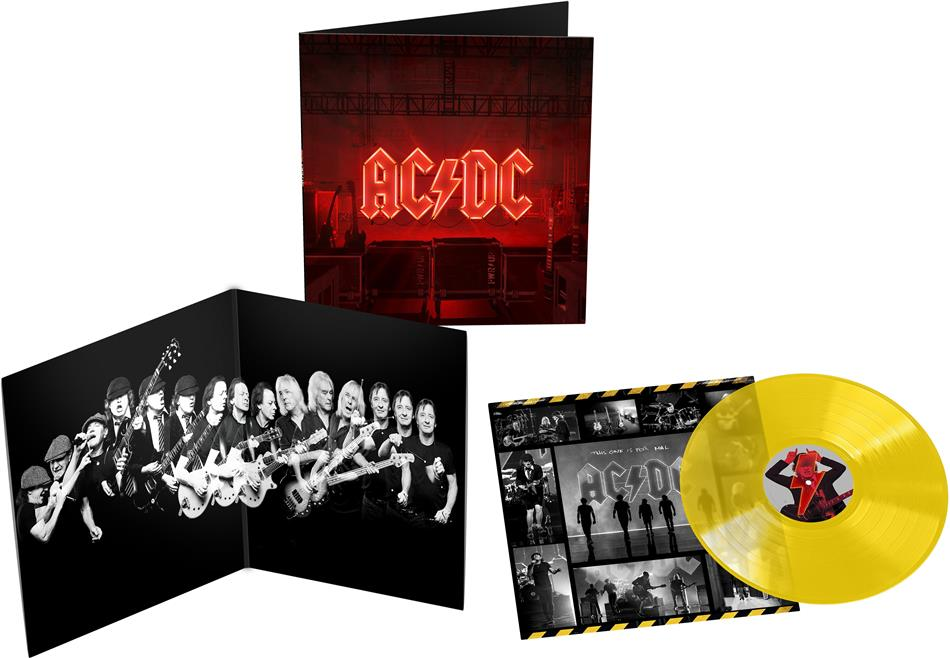 AC/DC - PWR UP (Power Up) - (Yellow Vinyl Edition) (Limited Edition, Transparent Yellow Vinyl , LP)