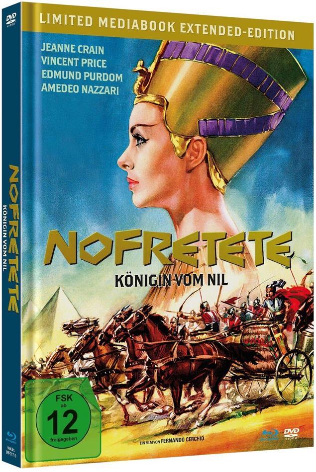Nofretete - Königin vom Nil (1961) (Extended Edition, Limited Edition, Mediabook, Blu-ray + DVD)