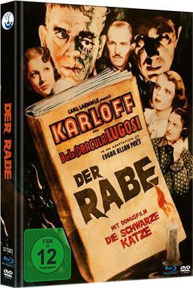 Der Rabe (1935) (s/w, Limited Edition, Mediabook, Blu-ray + DVD)