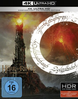 Der Herr der Ringe - Trilogie (Extended Edition, 9 4K Ultra HDs)