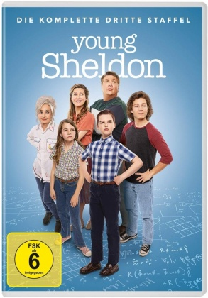 Young Sheldon - Staffel 3 (2 DVDs)