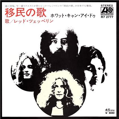 """Led Zeppelin - Immigrant Song / Hey Hey What Can I Do (Japanese Replica Single, Limited Edition, 7"""" Single)"""