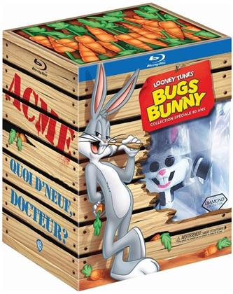 Looney Tunes - Bugs Bunny - Collection Spéciale 80 ans (mit Figur, Limited Edition, 3 Blu-rays)