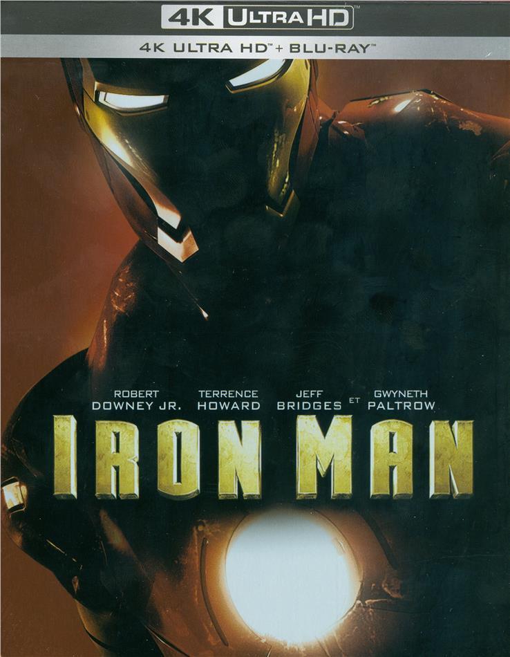 Iron Man (2008) (Limited Edition, Steelbook, 4K Ultra HD + 2 Blu-rays)