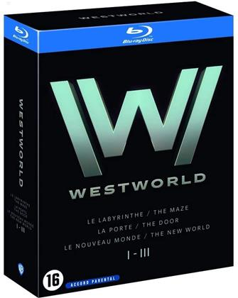 Westworld - Saisons 1-3 (9 Blu-rays)
